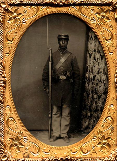 Black Civil War Portraiture In Context